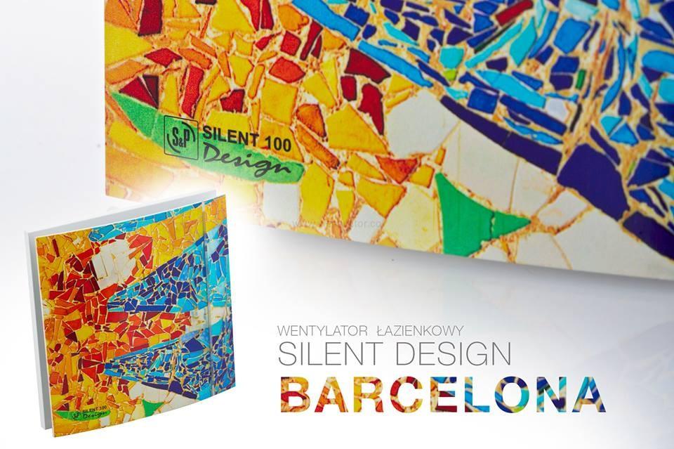 Wentylator silent design 100 barcelona 100cz went dom for Decor 100 silent